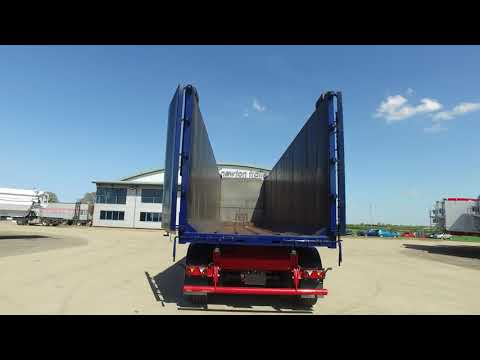 New 2018 SDC KBF Bulk steel tipping trailer