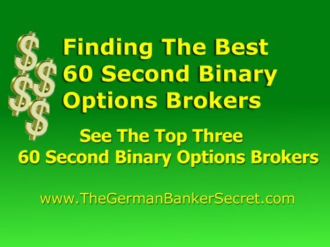 60 second binary option platforms