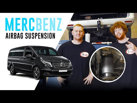 How To Install: Mercedes Benz V-Series Rear Full Air Suspension – OA6009 Airbag Man Suspension Kit