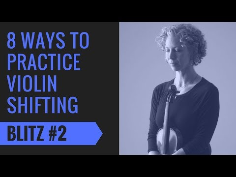 Violin Shifting Blitz 2 | Framing Fingers