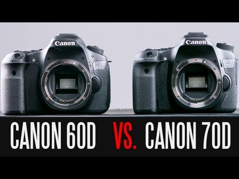 CANON 70D VS CANON 60D FULL In-Depth Comparison