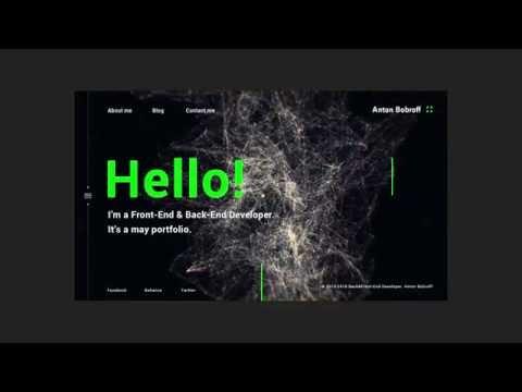 Дизайн сайта в Photoshop CC, анимация и презентация