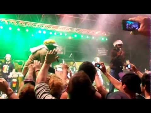 Pablo Moses & Andrew Tosh live at Rototom Reggae Contest Latin Finals 2013-Get Up Stand Up