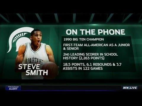 Steve Smith on MSU