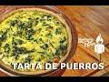 Tarta de Puerro y Acelga ft Julia Hermosa
