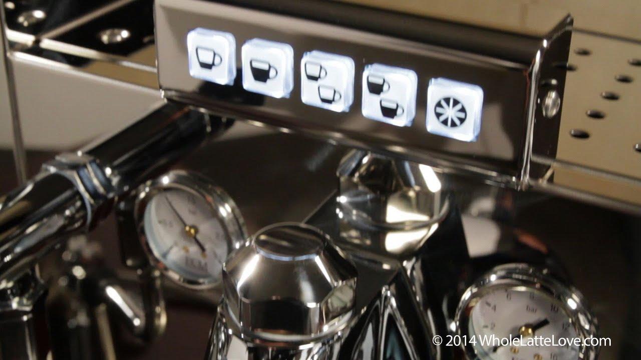 sneak peak ecm elektronika ii profi switchable espresso machine youtube. Black Bedroom Furniture Sets. Home Design Ideas