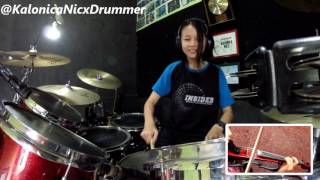 Clarissa Tamara ~ Wild Cherry ~ Play That Funky Music // Drum Cover by 12 yo Kalonica Nicx