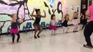 Grace dancing to Blue Ribbon Bunny - Sofia the First