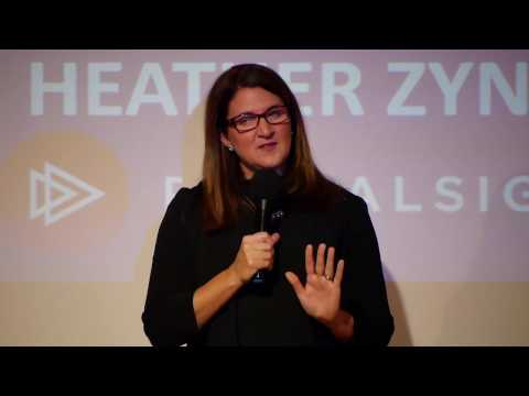 Heather Zynczak at Women Innovators Gala
