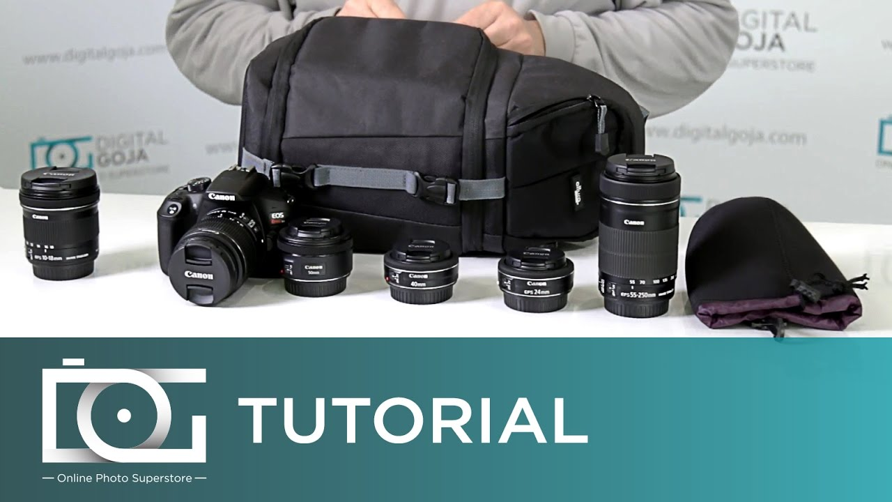 Altura Photo Sling Backpack How Many Lenses Can I Fit Tutorial