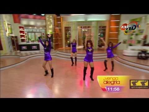 """Full HD ¡El ballet de venga la alegría bailando! """"Umbrella"""""""