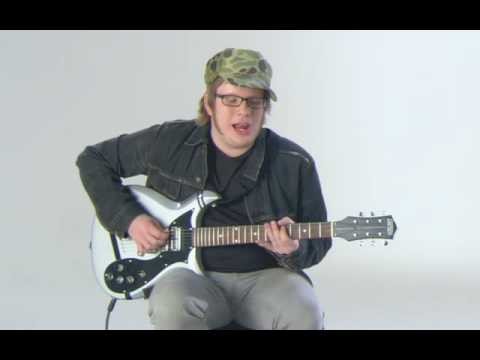 Patrick Stump from Fall Out Boy , teachs you I Don't Care ...