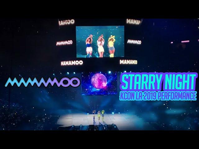 MAMAMOO - STARRY NIGHT PERFORMANCE KCON LA 2019 - FAN CAM