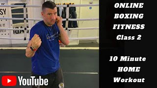 10 Minute Home Boxing Workout | Fitness At Home