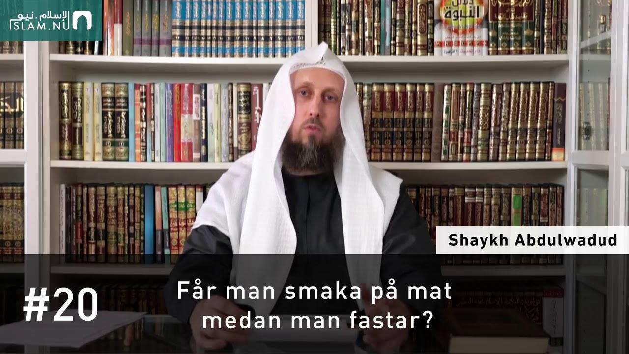 Får man smaka på mat medan man fastar? | Frågor & Svar om Ramadan