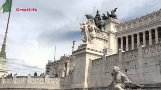 Bus ride in Rome