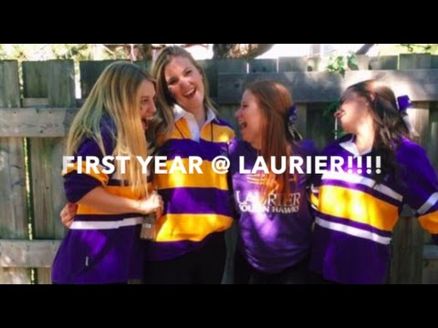 FIRST YEAR @ LAURIER!!!