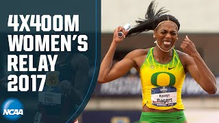 Women's 4x400 | 2017 NCAA track and field championship