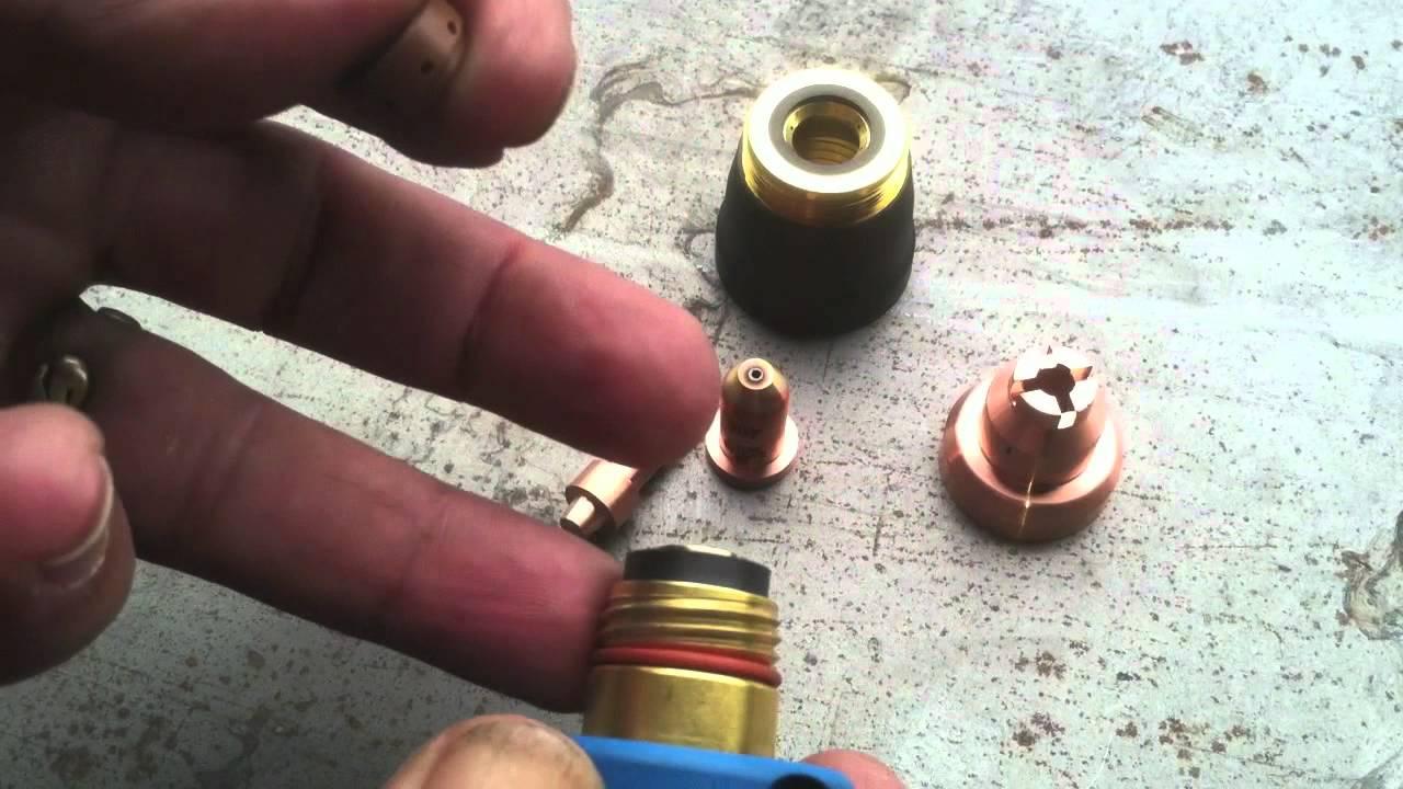 Miller Plasma Cutter Part2 The Honey Badger Youtube