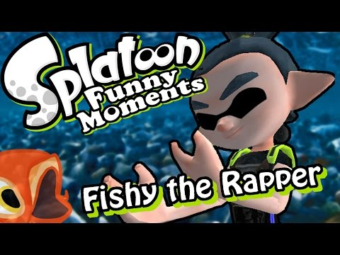 The Rapping Fish - Splatoon Hide and Seek Funny Moments and Highlights