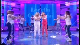 Lorella Cuccarini balla La notte vola a Domenica In