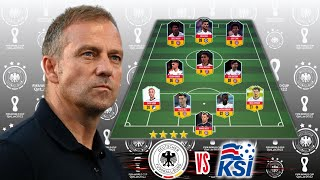Iceland vs Germany l Germany Potential Lineup World Cup 2022 Qualifier