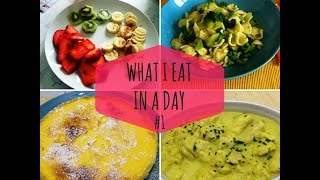 What I Eat In A Day #1 - Cosa mangio in un giorno #1 | TAG - SugarDany89