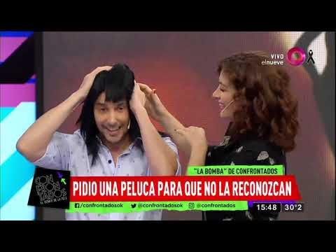 Luli Salazar se disfrazó para salir con su nuevo novio