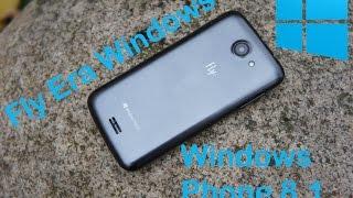 Видео обзор Fly Era Windows: самый доступный Windows Phone на рынке!(Fly ERA Windows - самый доступный Windows Phone смартфон на рынке. Он получил 4-дюймовый IPS-дисплей с разрешением 800 х 480..., 2014-10-06T07:39:42.000Z)