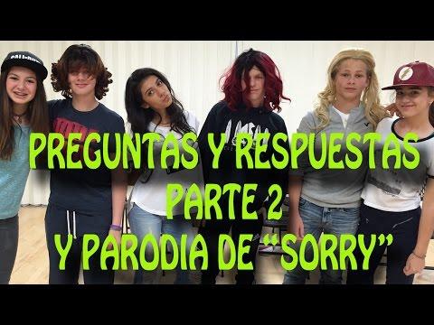 Giselle  - Parodia y Preguntas y Respuestas Segunda Parte de Sorry/Lo Siento