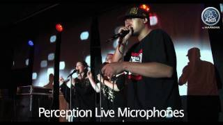 AKG Perception Live microphones P2, P4, P5, Perception Wireless - 'They can talk away'