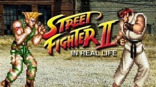 Street Fighter II: In Real Life Video