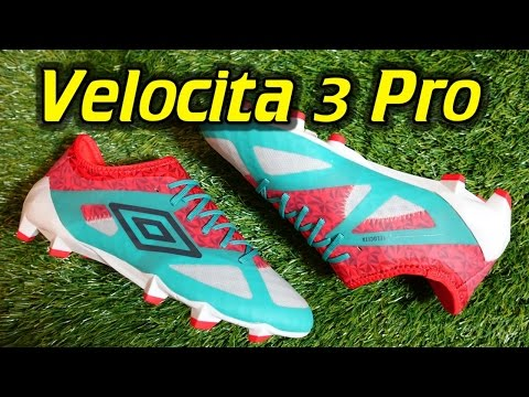Umbro Velocita 3 Pro - Review + On Feet