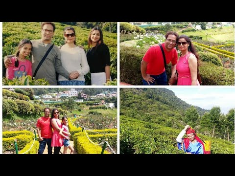 "#OOTY ""COONOOR TOUR ! DAY 3 n 4 VISIT TO TEA GARDEN ROSE GARDEN! TOY TRAIN TRAVEL! FULL DAY VLOG!"