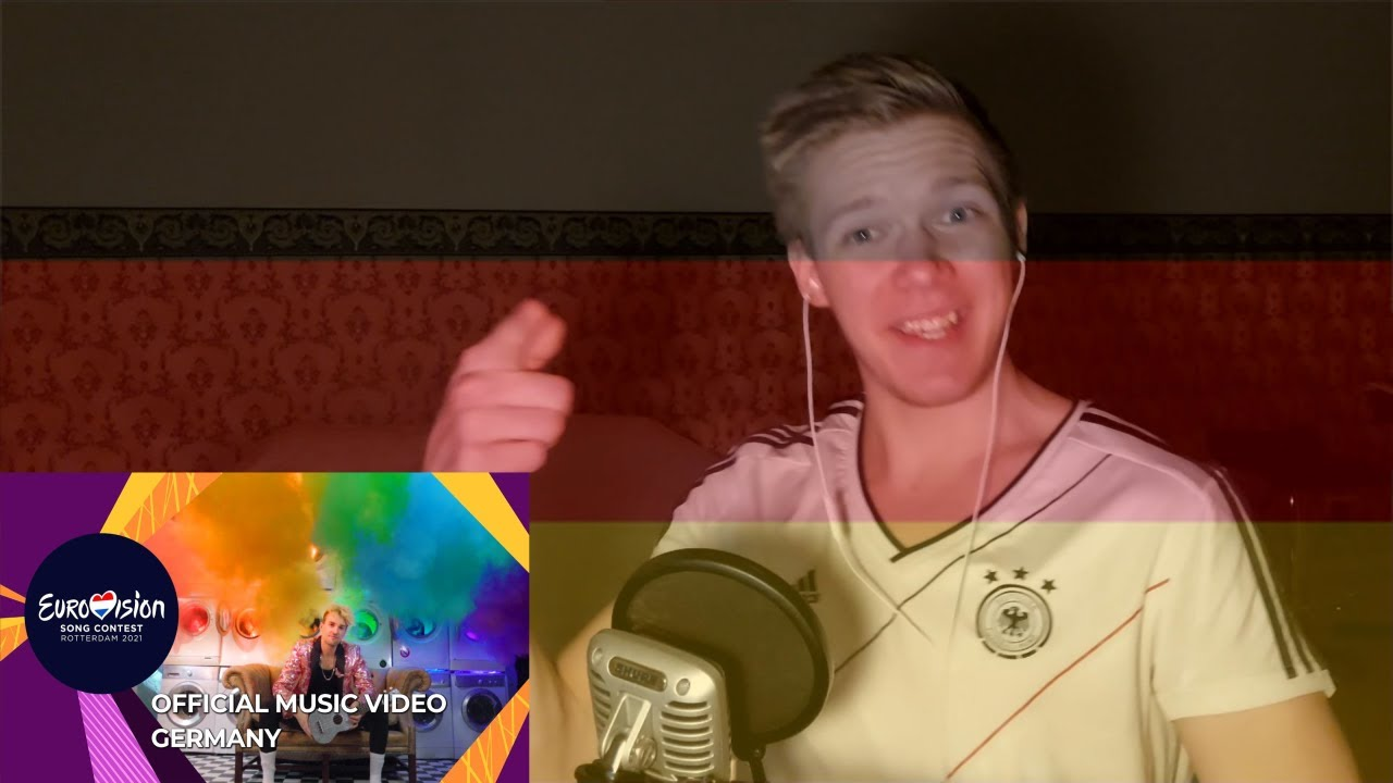 """FIRST REACTION: Jendrik """"I Don't Feel Hate""""   Germany Eurovision 2021"""