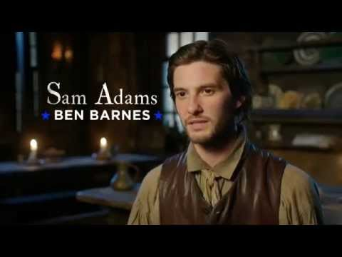 Ben Barnes talking about Boston Tea Party