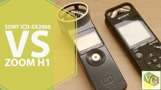 Perfect Audio Portable Audio Recorder | Sony ICD-SX2000 vs Zoom H1