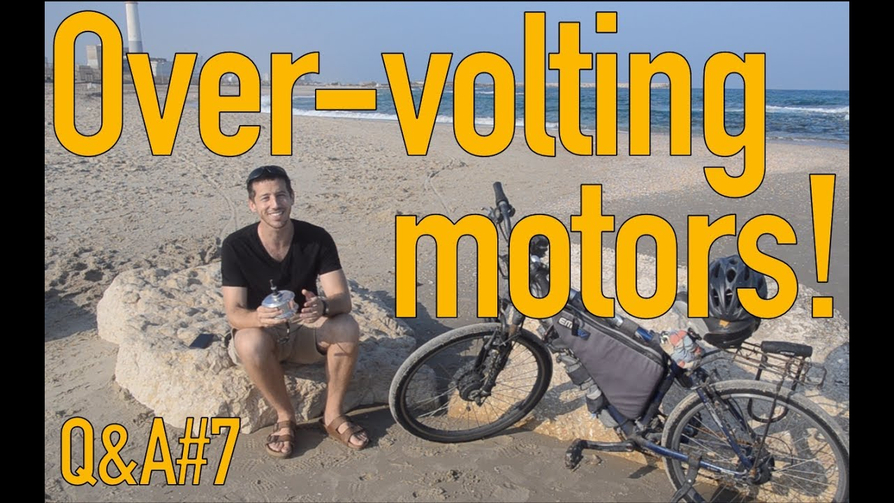 Overvolting An Electric Bicycle Motor For More Speed Qa7 Youtube Wiring Diagram 350w Bldc