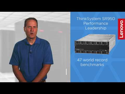 Lenovo ThinkSystem SR950 Performance Leadership