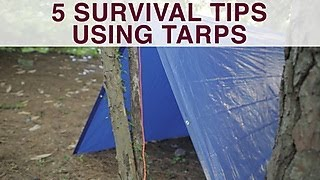 5 Alternative Uses For a Tarp - DIY Network