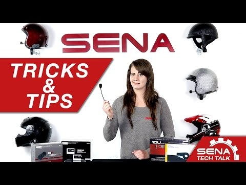 Sena Tech Talk: Tricks and Tips