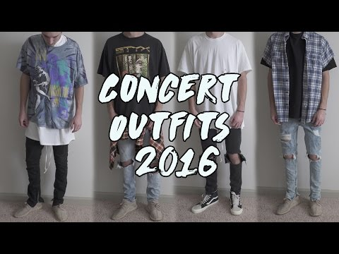 MY CONCERT OUTFITS 2016 | Drake, Kanye, Bieber & More!: VLOG CHANNEL: https://www.youtube.com/c/harrynevel  Clothes featured in the video: IF IT IS NOT LISTED IT IS NO LONGER FOR SALE Hyperdenim Jeans: http://goo.gl/J7QNu2 Upcycled Flannel: http://goo.gl/LUp1Nl Longline Tee: http://goo.gl/qU0q7H   // I N S T A G R A M : ?https://instagram.com/harrisonnevel/?????????????????????  // T W I T T E R : ?https://twitter.com/harrison???????????nevel????????????  // S N A P C H A T : harrisonnevel  // F A C E B O O K - http://facebook.com/harrisonnevelyt  SONGS FROM THE CONCERTS FEATURED IN THE VIDEO: Justin Bieber: Mark My Words Home To Mama Love Youself Company Drake: 9 Feel No Ways Trophies HYFR Hotline Bling Hold On, Were Going Home For Free Back On Road Kanye: All Of The Lights Good Life Ultralight Beam Rae Sremmurd: Broccli (DRAM & Lil Yachty) Minnesota (Lil Yachty) 1 NIGHT (Lil Yachty) No Type Look Alive Unlock The Swag  For Business Inquiries: SupHarrison@gmail.com