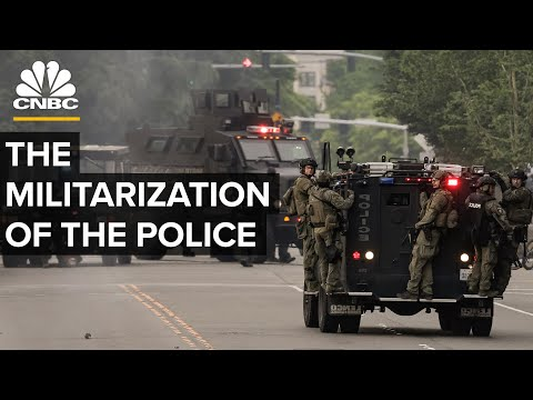 Why Police Pay Nothing For Military Equipment