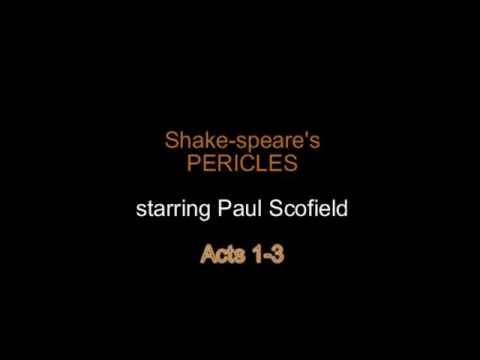 Shake-speare's Pericles - Paul Scofield - Acts 1-3