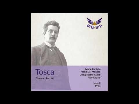 Mario Del Monaco Tosca Live 1954 Napoli, Rarissimo!!!