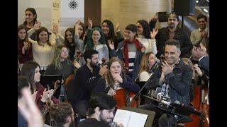 Jorge Drexler charla con jóvenes en el Auditorio del Sodre