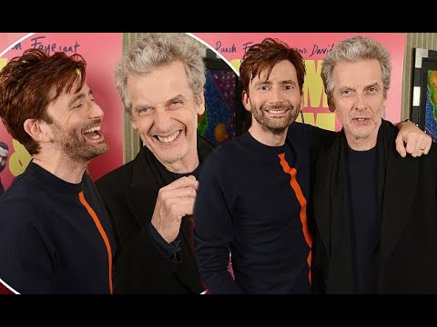 Doctor Who icons David Tennant and Peter Capaldi attend screening