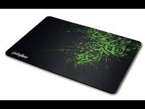 d ballage tapis de souris razer goliathus youtube. Black Bedroom Furniture Sets. Home Design Ideas