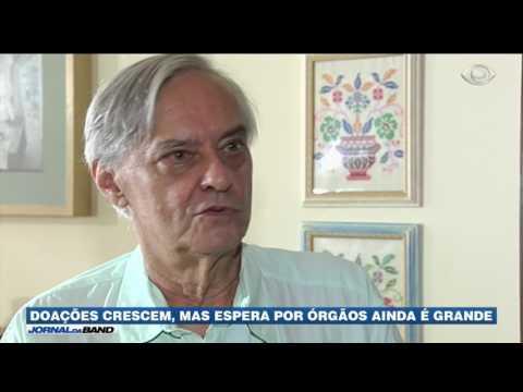 Quantidade de doadores de órgãos segue baixa no Brasil