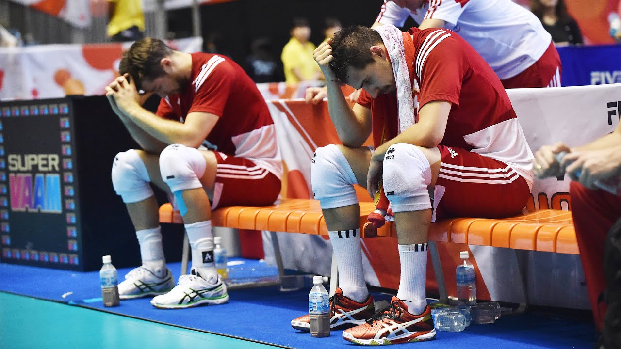The Saddest Moment for Poland Volleyball Team (HD)